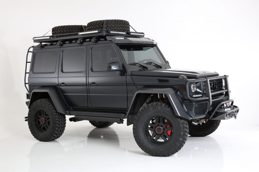 Mercedes G Wagon Fully Custom and Blacked Out