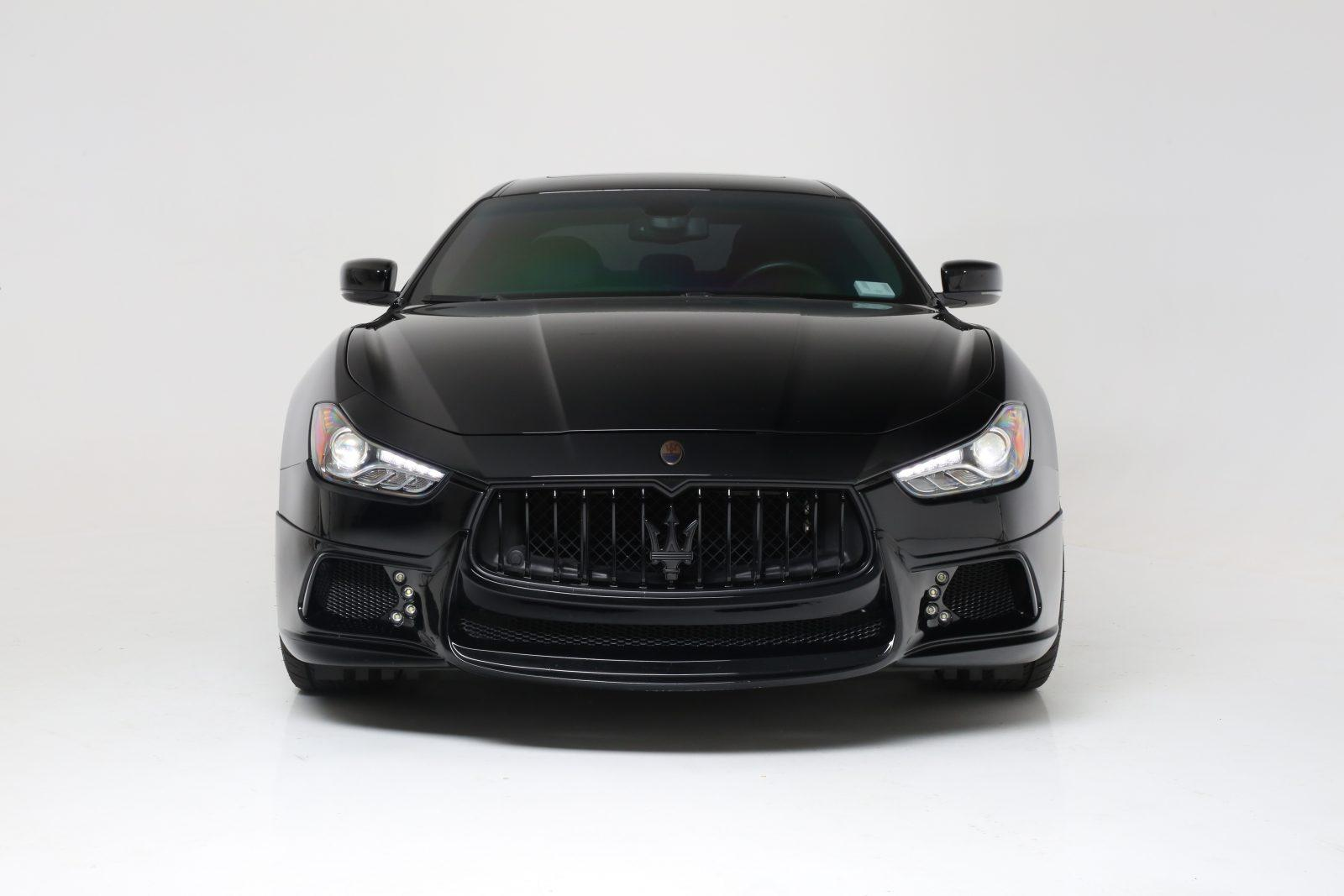 Maserati Ghibli Blackout Package Chrome Delete By All Star Motorsports