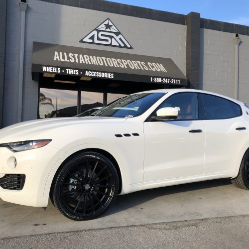 Maserati Blacked Out / Chrome Delete Package by All Star Motorsports
