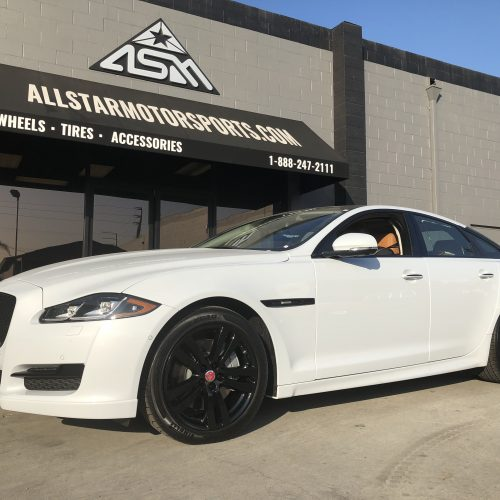 Jaguar Blacked Out Package/Chrome Delete by All Star Motorsports