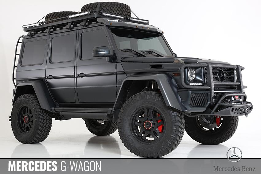 Mercedes Benz G-Wagon Fully Custom Built by All Star Motorsports