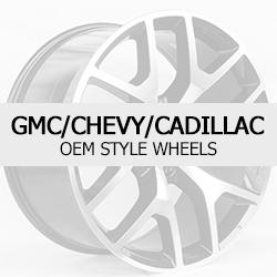 GMC-Cadillac-Chevrolet OEM Style Replacement Factory Wheels