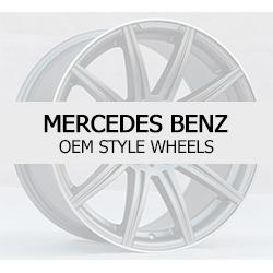 Mercedes Benz OEM Style Replacement Factory Wheels