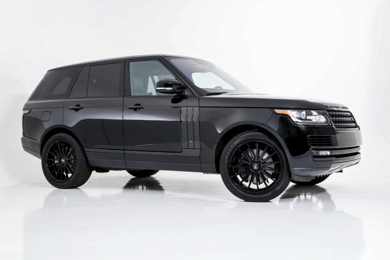 Range Rover Blackout & Carbon Fiber Kit