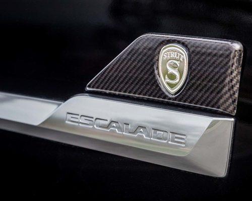 2016 Cadillac Escalade Carbon Fiber Side Moldings