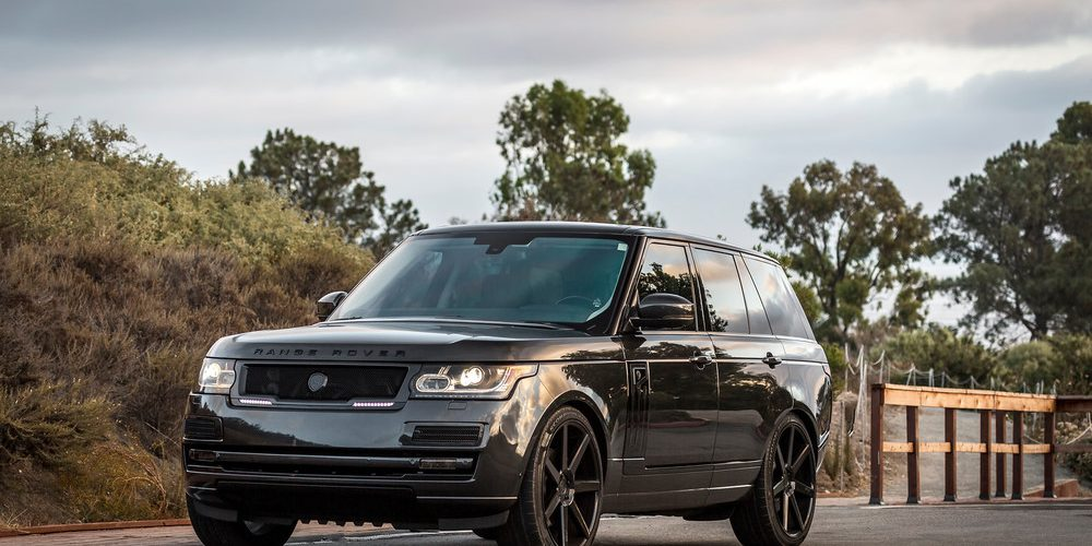 Range Rover Fiber Glass LED Grille Collection