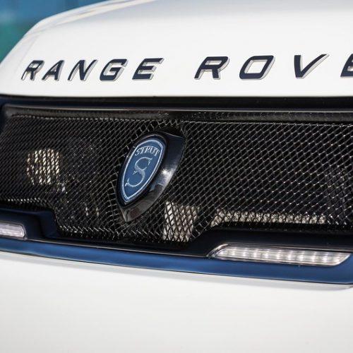 Range Rover Sport Fiberglass LED Grille