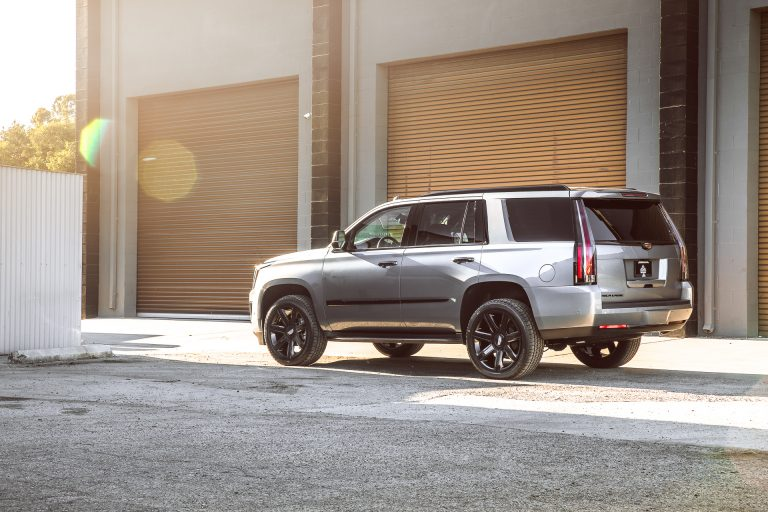CADILLAC ESCALADE GREY BLACKOUT PACKAGES
