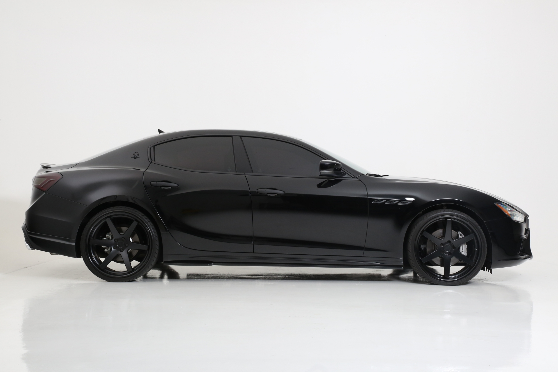 Maserati Ghibli Blackout Package & Chrome Delete by All Star