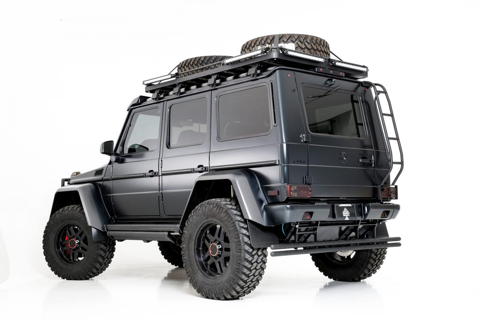 Mercedes Benz G-Wagon Blackout Package by All Star Motorsports
